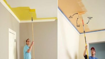 Ceiling Painting Tips – How to do It All by Yourself